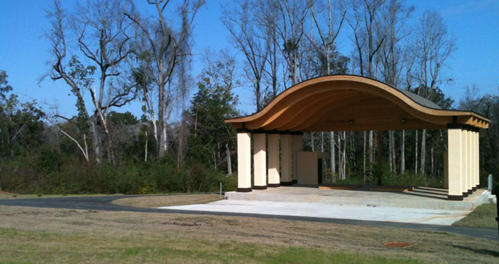 Tanyard Creek Amphitheater, Quincy, Florida.